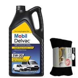 Mobil Delvac LCV T Hafif Ticari Araç Motor Yağı 5W30 7 L