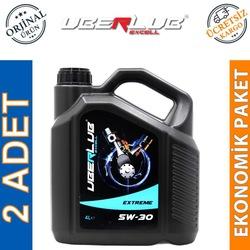 Uberlub Excell Extreme 5W/30 4 Lt Tam Sentetik Motor Yağı (2 Adet