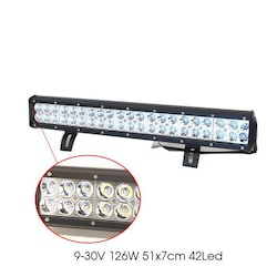 Off-Road Projektör 9-30V 126W 51x7cm 24 Led 4203271