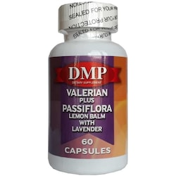 Dmp Valerian Plus Passiflora Lemon Balm With Lavender 60 Kapsül