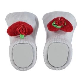 Mini Damla Minidamla Çorap 0-3 Ay Beyaz