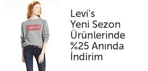 Levi's yeni sezon indirim fırsatı