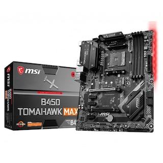 MSI B450 Tomahawk Max AMD B450 4133 MHz (OC) DDR4 Soket AM4 ATX Anakart