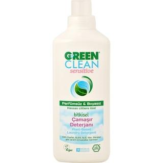 U Green Clean Sensitive Hassas Ciltlere Özel Bitkisel Çamaşır Deterjanı 1 L