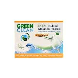U Green Clean Bitkisel Bulaşık Makinesi Deterjanı 30 Tablet