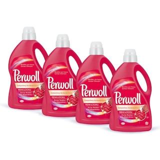 Perwoll Renkliler Hassas Sıvı Çamaşır Deterjanı 50 Yıkama 4 x 3 L