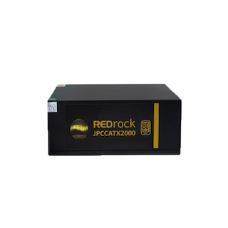 Redrock JPCCATX2000 2000W 80+ Gold Fanlı Mining Güç Kaynağı 2 x 8 CM