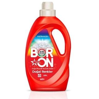 Boron Doğal Renkler Sıvı Çamaşır Deterjanı 26 Yıkama 1690 ML