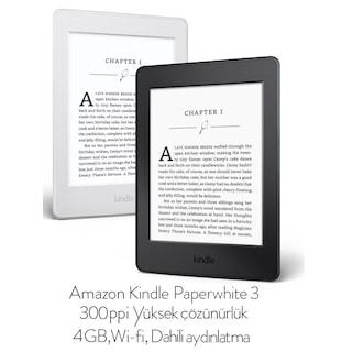 Kindle Paperwhite 3 4GB 300ppi AYNI GÜN KARGO