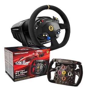 Thrustmaster TS-PC RACER Ferrari 488 Challenge + F1 Wheel Add on