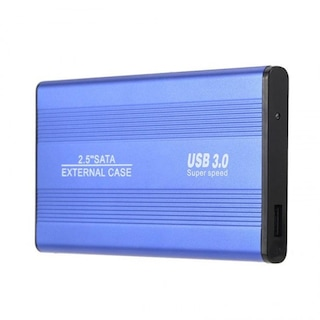 2.5 inç USB 3.0 Sata Harddisk HDD Kutusu 5 Gbps + Aluminyum Kasa