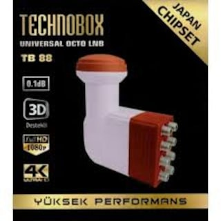8'Lİ-4'LÜ-2'Lİ-1'Lİ TECHNOBOX LNB FULL HD 4K UYUMLU