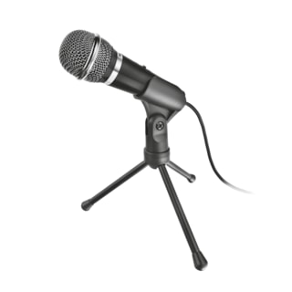 Trust 21671 STARZZ Pc/Laptop Uyumlu 3.5mm Siyah Mikrofon