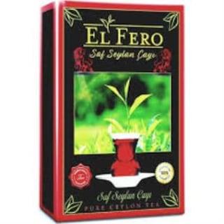 El Fero Harmansız Süper Pekoe İthal Seylan Çay 800 Gr.