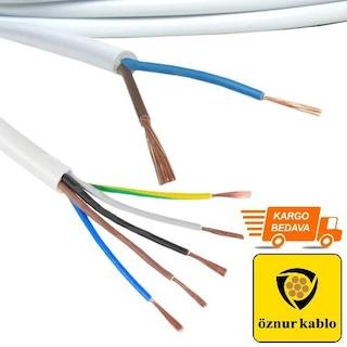 Öznur TTR Kablo %100 Bakır (Kesit Ve Metre Seçenekli)