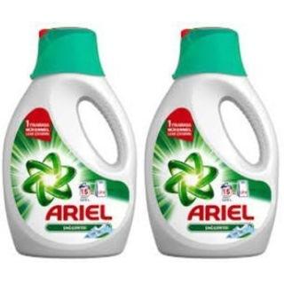 Ariel Dağ Esintisi Sıvı Çamaşır Deterjanı 15 Yıkama 2 x 975 ML
