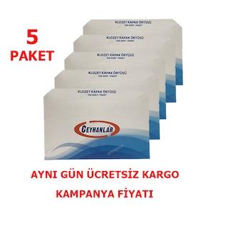 Klozet Kapak Örtüsü 5 Paket Ceyhanlar 1250 Adet