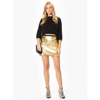 ROMAN Bel Detaylı Gold Mini Etek 15116076
