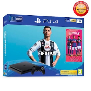 Sony Ps4 1 Tb Slim Konsol + Fifa 19 Bundle (Sony Eurasia)