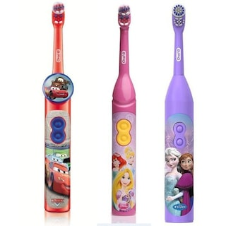 Oral-B Braun Pilli Diş Fırçası Çocuk D2010k 3+ YENİ ÜRÜN