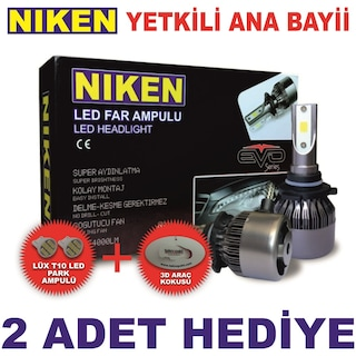 Niken Led Xenon Far Ampul h7 h1 h4 9005 9006 h11 h3 h27 h15 h8 h9