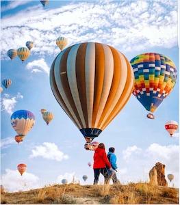 Gökyüzüne Doğru Yolculuk! 1 Saatlik Muhteşem Kapadokya Balon Turu