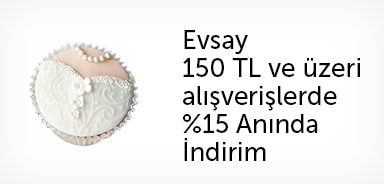 Evsay Seçili Ürünlerde 150 TL ve Üzeri Alışverişlere %15 Anında İndirim - n11.com