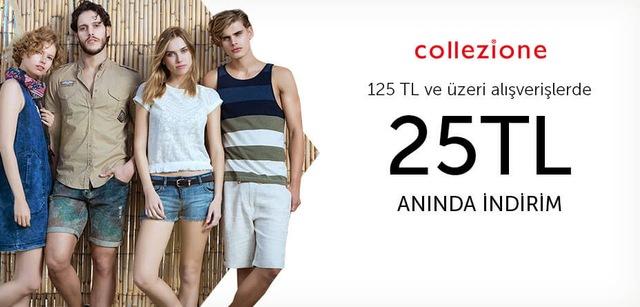 Collezione 125 TL ve Üzeri Alışverişlerde 25 TL Anında İndirim - n11.com