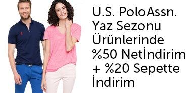 U.S.PoloAssn. Yazın Son Fırsatı %50 Net İndirim + Sepette %20 İndirim   - n11.com