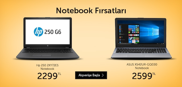 n11.com Notebook Kampanyaları - n11.com