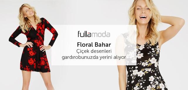Fullamoda Mağazasında Floral Bahar