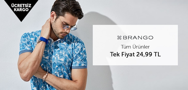 Brango Tüm Ürünler Tek Fiyat 24,99 TL