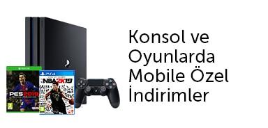 Konsol ve Oyunlarda Mobile Özel İndirimler - n11.com