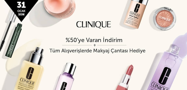 CLINIQUE- %50'ye Varan İndirim - n11.com