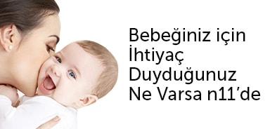Bebeğinizi Büyütürken İhtiyaç Duyduğunuz Ne varsa n11.com'da - n11.com