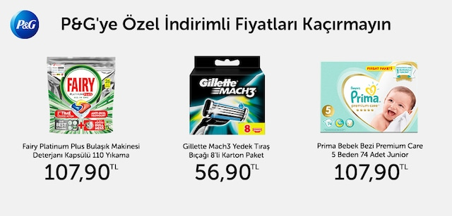 P&G'ye Özel İndirimli Fiyatlar - n11.com