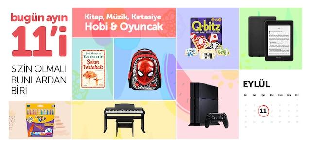 Her Ayın 11'i - Kitap, Müzik, Oyun & Kırtasiye - n11.com