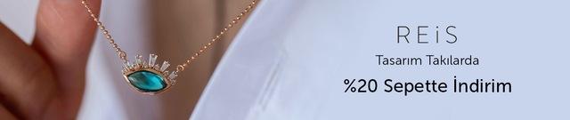 Reis Kuyumculuk Tasarım Takılarda Sepette %20 Ek İndirim - n11.com