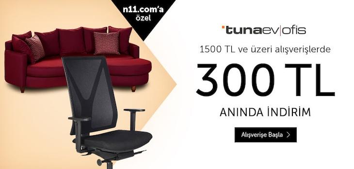 TunaEvOfis Şimdi N11.com'da