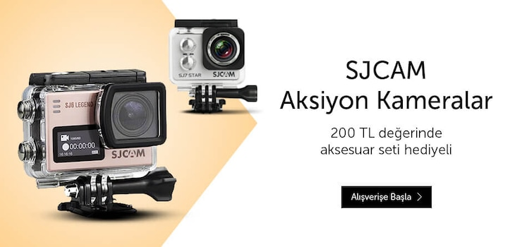 SJCAM Aksiyon Kameralar