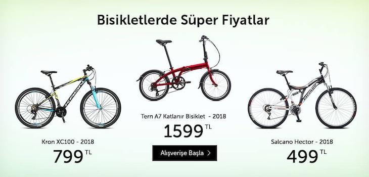 Bisikletlerde Süper Fiyatlar
