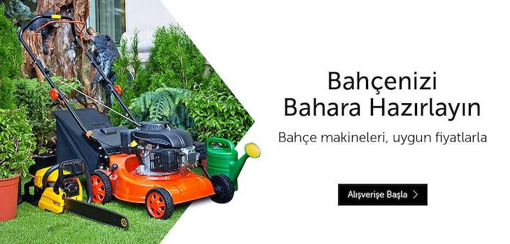 Bahçeler için Profesyonel Makineler