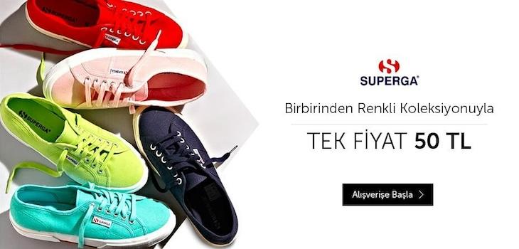 Superga Birbirinden Renkli Koleksiyonuyla