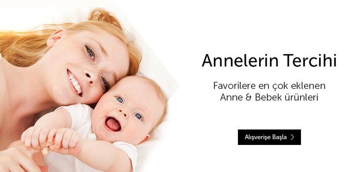 En Çok Eklenen Anne&bebek Ürünleri
