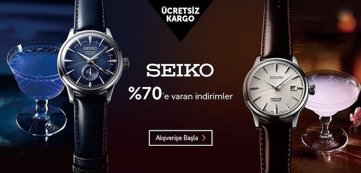 Seiko Saatlerde