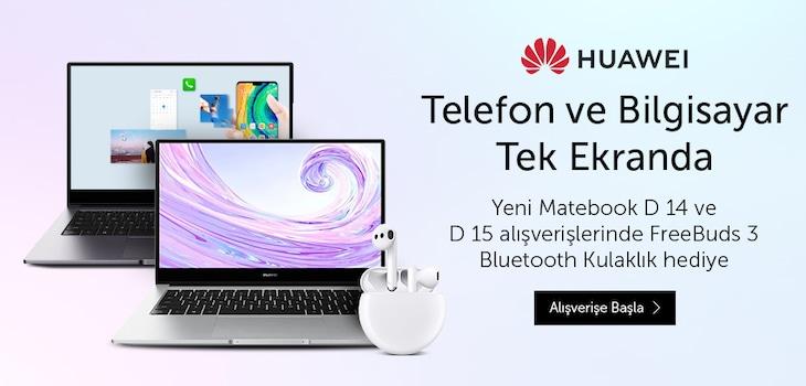Huawei Matebook Kampanyası