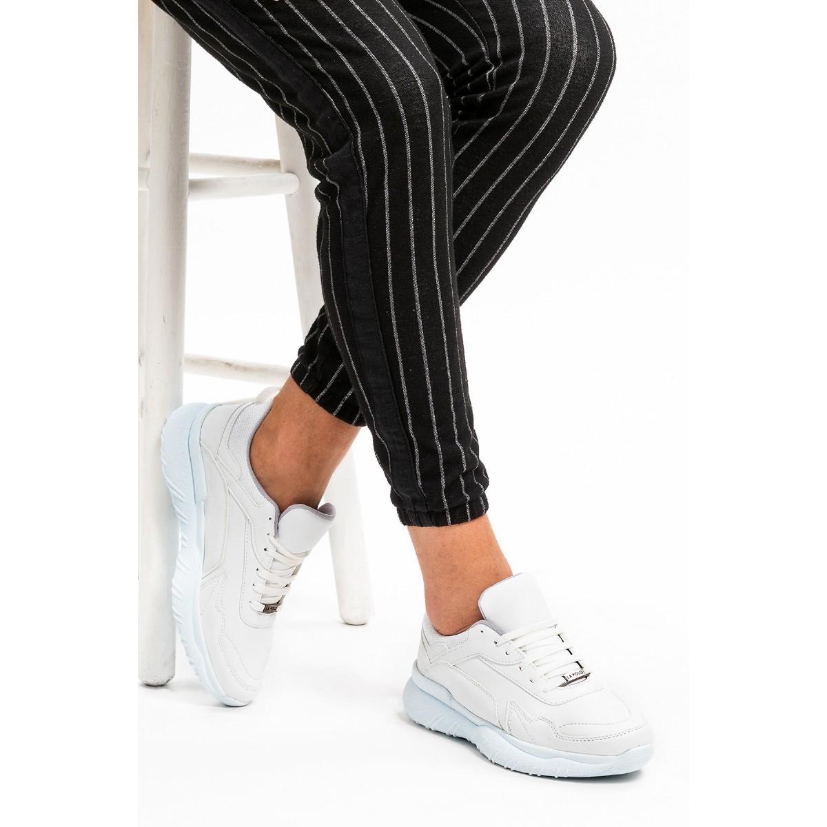 L.A. Polo 106 Beyaz Erkek Spor Ayakkabı