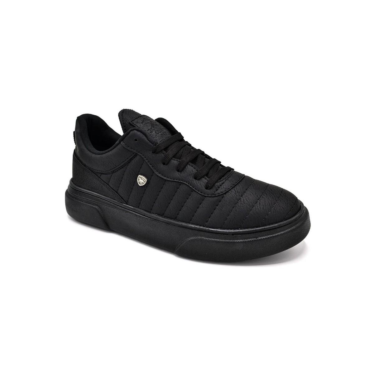 L.A. Polo 113 Siyah Siyah Erkek Spor Ayakkabı