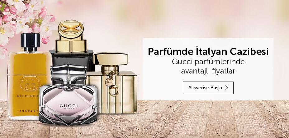 Parfüm indirim kampanya gucci fırsat