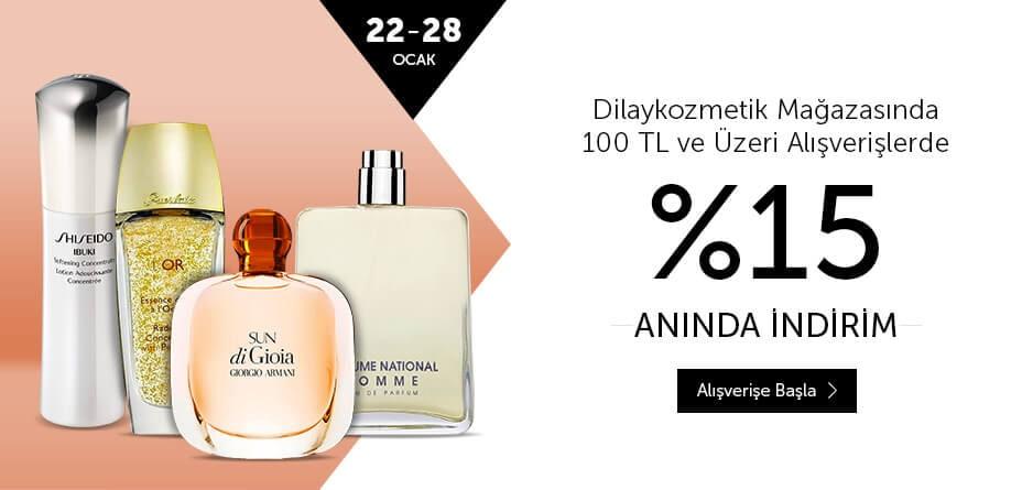 Kozmetik Parfüm indirim kampanya fırsat